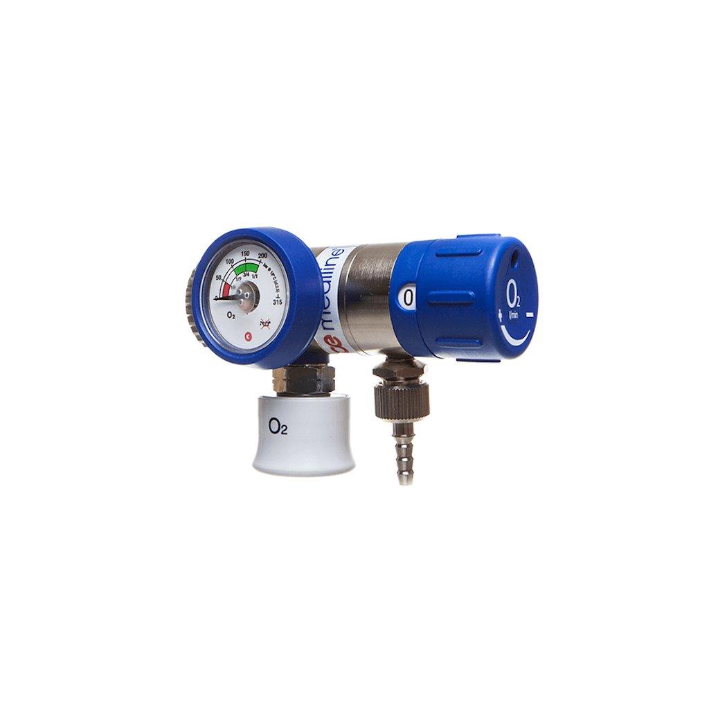 Lahvový redukční ventil GCE MEDISELECT II 2l/min (O2)