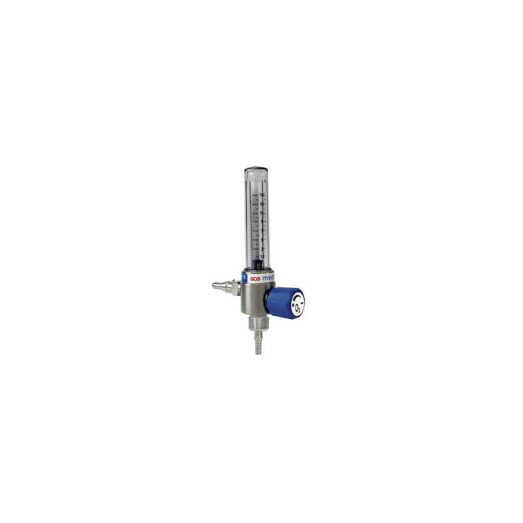 Kyslíkový průtokoměr GCE, MEDIMETER 15 l/min, výstup - 9/16 UNF