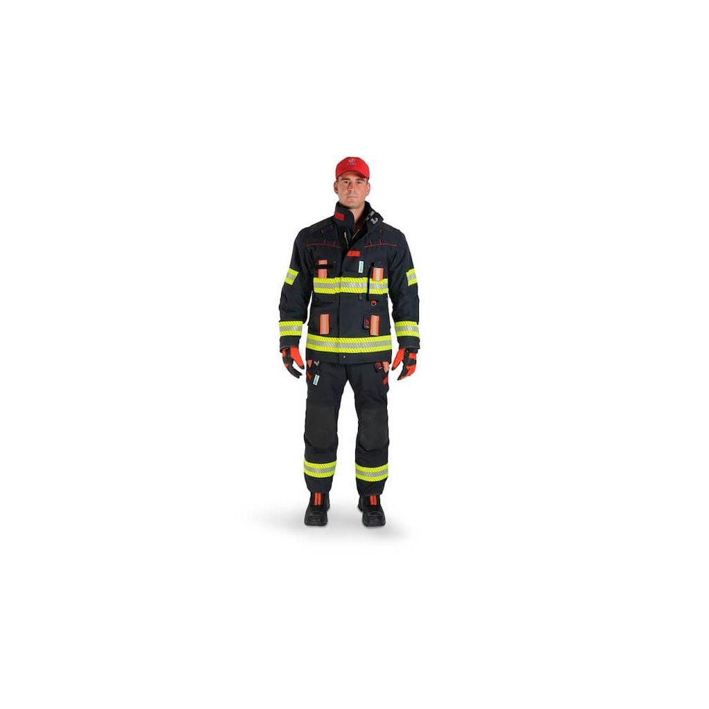 Třívrstvý zásahový ochranný oblek pro hasiče GOODPRO, FR4 FireWarrior
