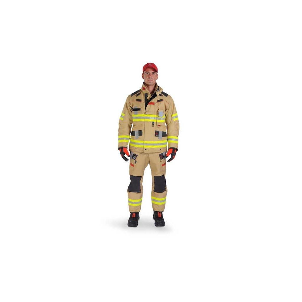 Třívrstvý zásahový ochranný oblek pro hasiče GOODPRO FR4 FirePanther