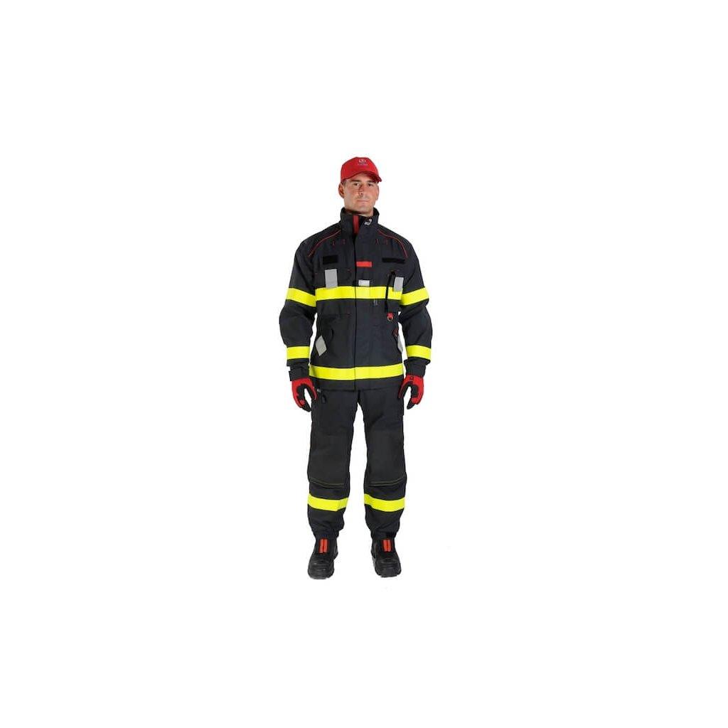 Jednovrstvý zásahový ochranný oblek pro hasiče GOODPRO FR2 FireFalcon M