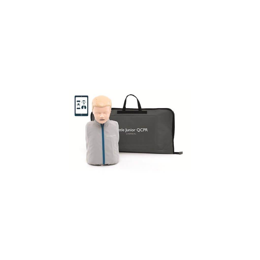 Cvičná figurína LAERDAL AED junior nácvik s QCPR (AED)