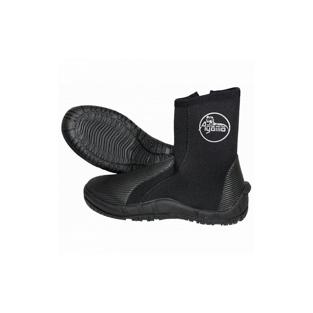 Neoprenové boty AGAMA WARCRAFT 5 mm