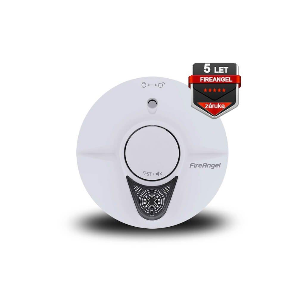 Požární hlásič a kouře FireAngel ST 623E s LED nouzovým osvětlením