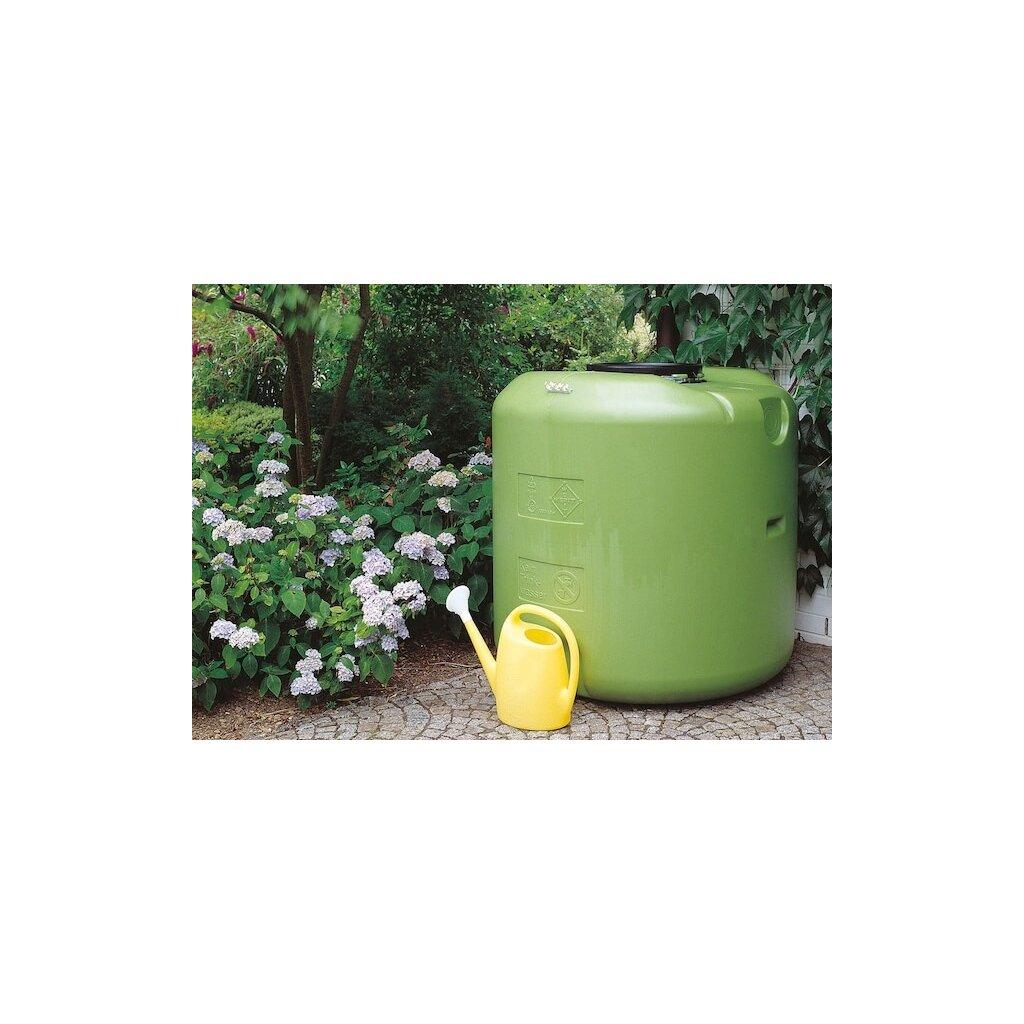 Nádrž na dešťovou vodu 1000l na zahrady