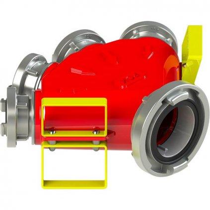 Sběrač hliníkový, POK, A110 B75 B75 B75 B75