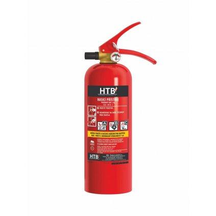 Hasicí přístroj práškový HTB, P2F/MP, 13A 89B C, včetně revizní zprávy