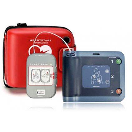 AED defibrilátor PHILIPS HeartStart FRx kombinace 3v1
