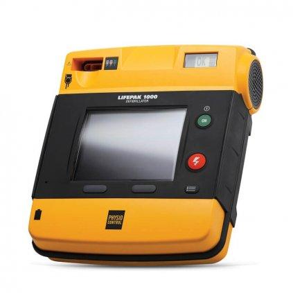 Automatizovaný externí defibrilátor (AED) LIFEPAK® 1000, včetně externího obalu