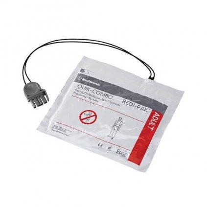 Nalepovací elektrody pro AED defibrilátor Stryker LIFEPAK QUIK-COMBO REDI PAK (dospělého)