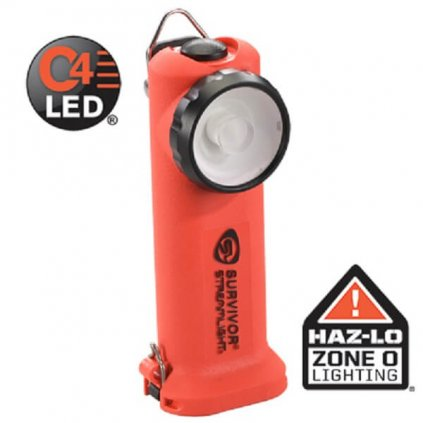Svítilna osobní Streamlight, SURVIVOR ATEX Li Ion s nabíječi 12 230V 10hodin