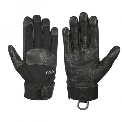 Slaňovací ochranné rukavice pro záchranáře Holík, RESCUE Kaya 8269