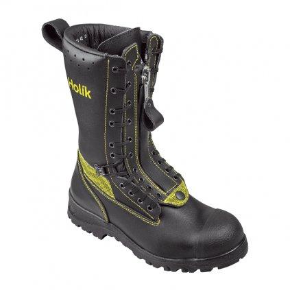 Zásahová ochranná obuv pro hasiče Holík, Lukov 7108