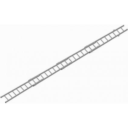 Žebřík nastavovací TAUCHMAN hliník HN3L (8,3m)