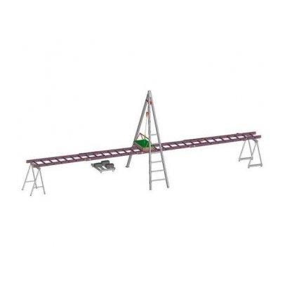 Zkušební dráha pro žebřík lineární