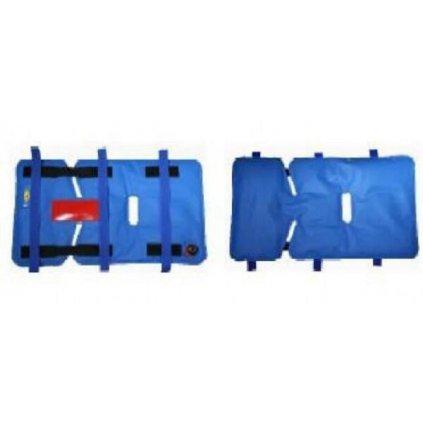 Dětský zádržný systém s vakuovou vložkou pro zádržný systém do sanitek