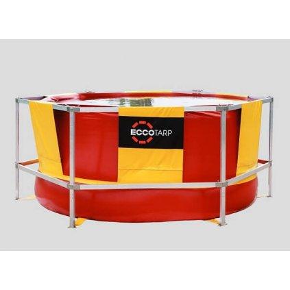 Nádrž velkokapacitní se skládací konstrukcí Eccotarp, ET TANK 5000 L nádrž s kontrukcí