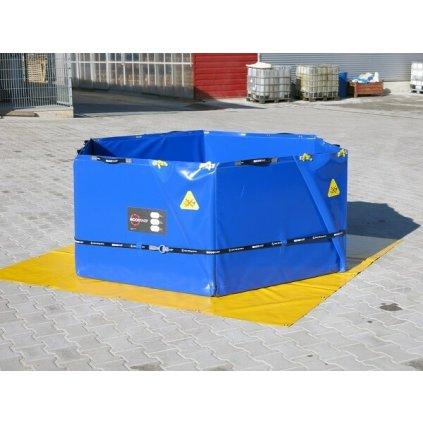Nádrž skládací ECCOTARP samonosná ET HX 2000L šestiúhelníková