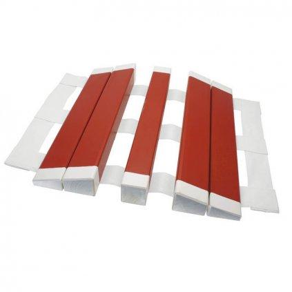 Přejezdový můstek na hadice, C52 a B75 - dřevěný , červenýPřejezdový můstek na hadice, C52/B75 - dřevěný , červený