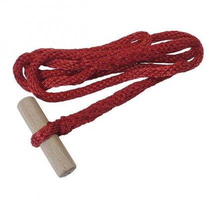 Vazák na hadice barva červená