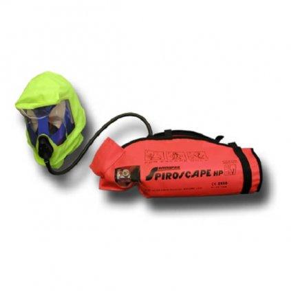 Dýchací přístroj MEVA Spiroscape pro nouzový únik (EEBD)