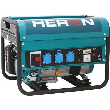Elektrocentrála benzínová HERON, 5,5HP 2,3kW, EGM 25 AVR