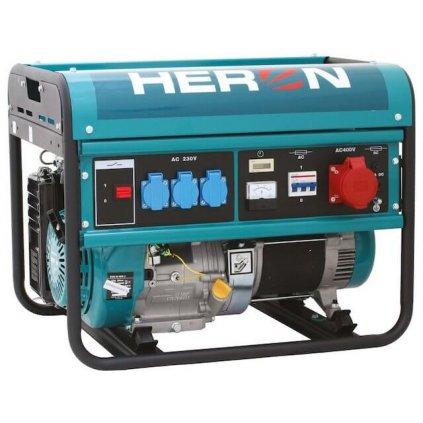 Elektrocentrála benzínová HERON, 13HP 6kW, pro svařování, EGM 60 AVR 3