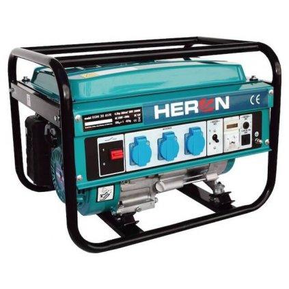 Elektrocentrála benzínová HERON 6,5HP/2,8kW, EGM 30 AVR (jednofázová)