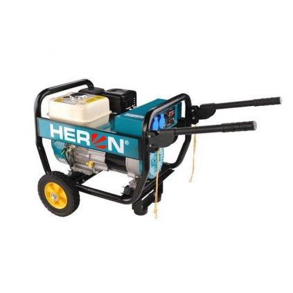 Elektrocentrála benzínová HERON, 6,5HP 2,8kW, industriální, EGI 30