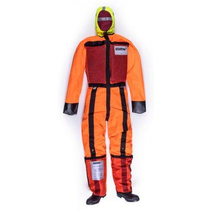 Cvičná figurína RUTH LEE pro záchrannou vodní službu netopí se oranžový overal