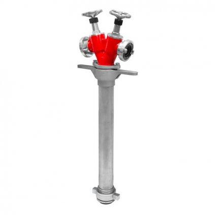 Hydrantový nástavec vřetenový POK DN80 (2xB75)Hydrantový nástavec vřetenový POK DN80 (2xB75)