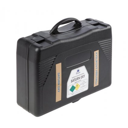 Kyslíkový resuscitační přístroj MEVA, SATURN OXY Comfort s médiem