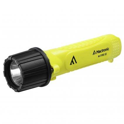 Svítilna na přilby Mactronic M Fire, 02 Cree LED certifikací ATEX a krytím IP68 2
