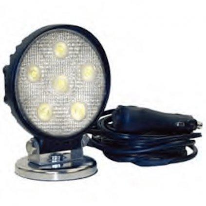 Pracovní světlo LED FEDERAL SIGNAL VAMA čirá optická čočka (magnetické)