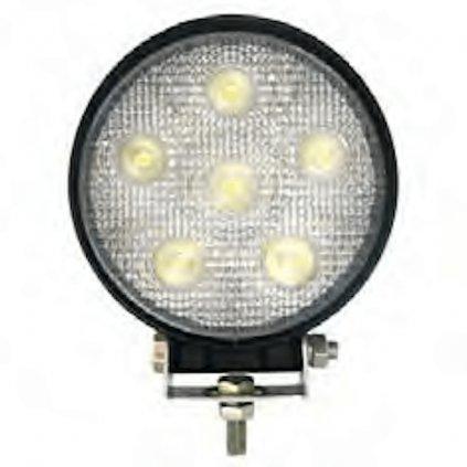 Základní specifikace pracovního světla LED Federal Signal Vama, čirá optická čočka, pevná montáž 2