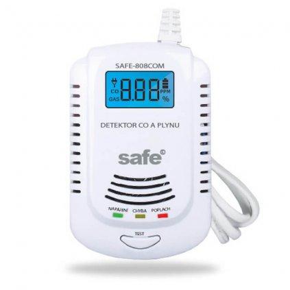 Kombinovaný detektor CO SAFE, hořlavých a výbušných plynů SAFE 808COM 2