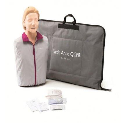 Cvičná figurína LAERDAL AED Little Anne pro nácvik s QCPR (AED)