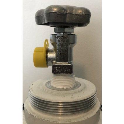 Ventil O2, Inlet 25E, outlet W21.8