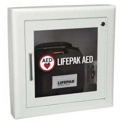 Nástěnná skříňka s alarmem pro AED defibrilátor Stryker