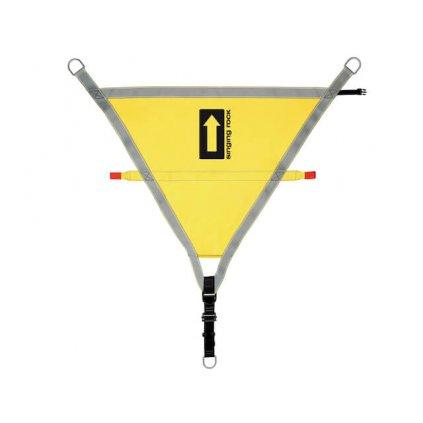 Evakuační záchranářský trojúhelník SINGING ROCK, pro záchranu z lanovky 2