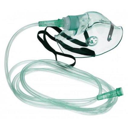Kyslíková maska pro dospělé GL včetně hadičky (210cm)