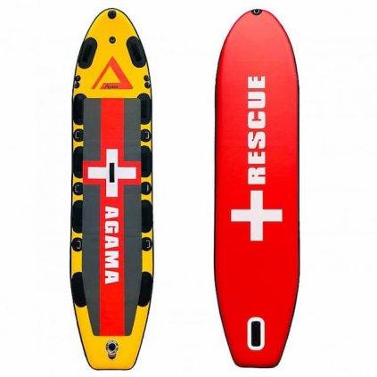 Paddleboard Agama, rescue