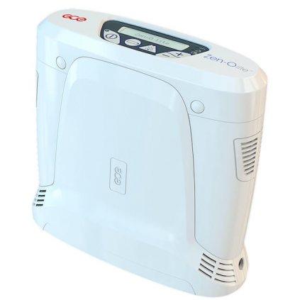Přenosný koncentrátor kyslíku GCE HEALTHCARE, Zen O lite, dvou 8 článková baterie