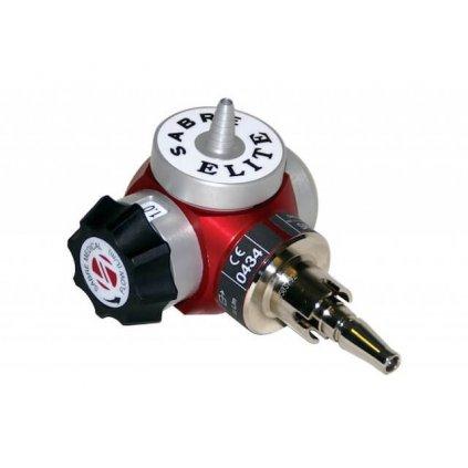Lahvový redukční ventil GCE SABRE ELITE automatický (O2)