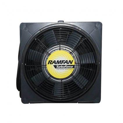 Přetlakový ventilátor elektrický RAMFAN, EFI120xx, 220V 0,9kW