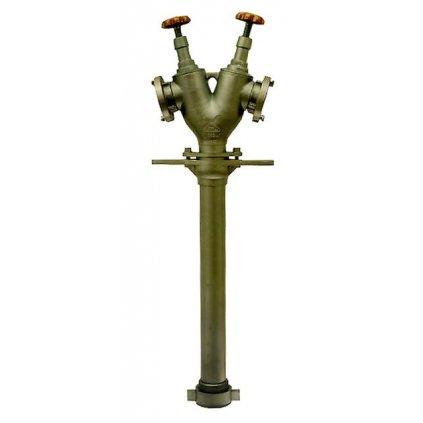 Hydrantový nástavec vřetenový DN80 (2xB75)Hydrantový nástavec vřetenový DN80 (2xB75)
