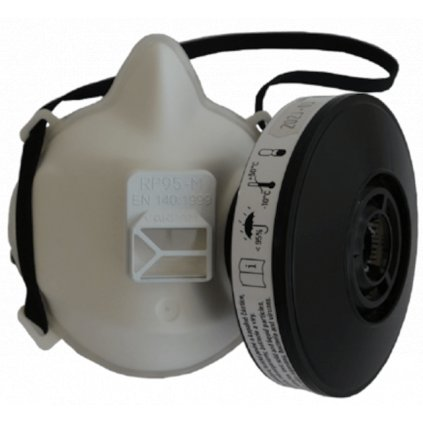 Polomaska ochranná TRIX, RP95-M s filtrem