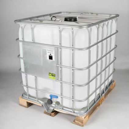 IBC kontejner 1000l, paleta dřevo - REPAS