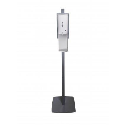 Dezinfekční stojan AVEX, NICAS BABY s bezkontaktním dávkovačem na dezinfekci včetně odkapávače, barva - šedá
