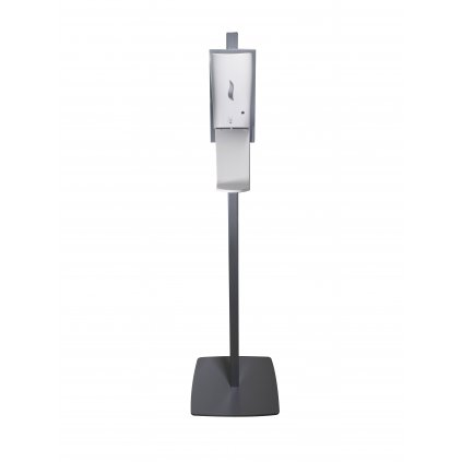 Dezinfekční stojan AVEX NICAS BABY s bezkontaktním dávkovačem na dezinfekci včetně odkapávače (šedý)